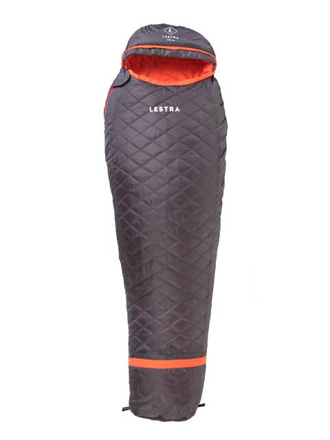 Lestra Alpine Light Śpiwór szary/pomarańczowy